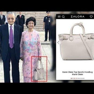 Hehe Beg Tangan Tun Dr Siti Hasmah Pula Jadi Tular