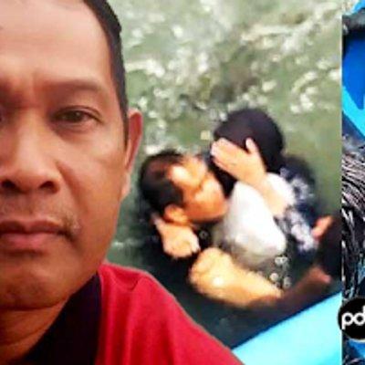 Hero Hampir Lemas Selamatkan Wanita Terjun Jambatan P Pinang