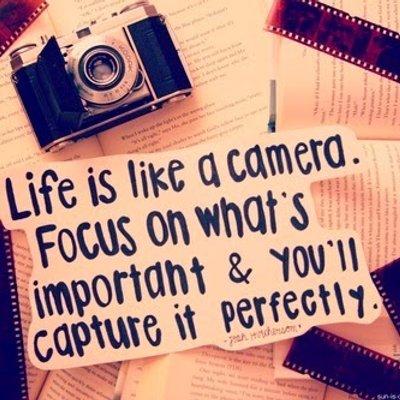 Hidup Seperti Kamera