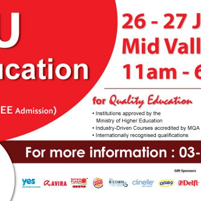 Higher Education Fair 2017 Mid Valley Exhibition Centre Kuala Lumpur