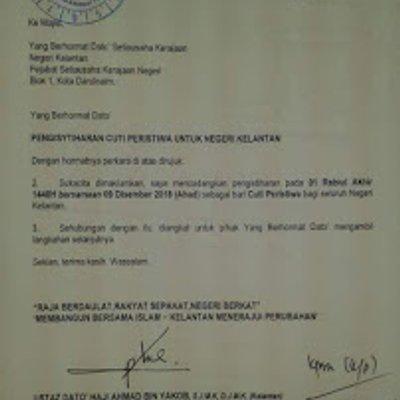 Himpunan Icerd Dapat Cuti Peristiwa Kerajaan Pas Kelantan