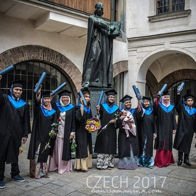 How Graduation Ceremony In Czech Looks Like