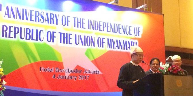 Hubungan Indonesia Myanmar Semakin Erat Karena Rohingya