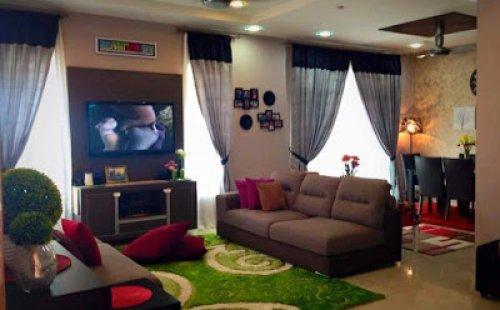 Idea Deko Ruang Tamu Mudah Dan Cantik