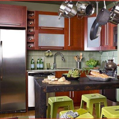 idea dekorasi desain dapur rumah kecil
