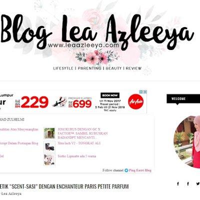 Iklan Adsense Telah Muncul Di Blog Lea Azleeya