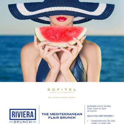 Indulge In The Charms Of The Riviera At Riviera Brunch Sofitel Bali S Latest Sunday Brunch