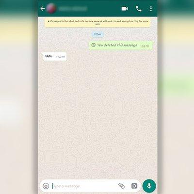 Info It Anda Tersalah Hantar Mesej Whatsapp Boleh Segera Padam