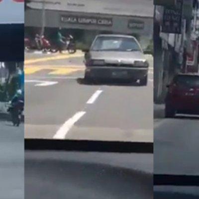 Ini Baru Toretto Malaysia Aksi Bahaya Pemandu Bawa Kereta Secara Mengundur Cetus Fobia Netizen