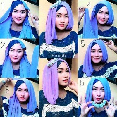 Ini Dia Tutorial Gaya Hijab Untuk Menghadiri Wisuda