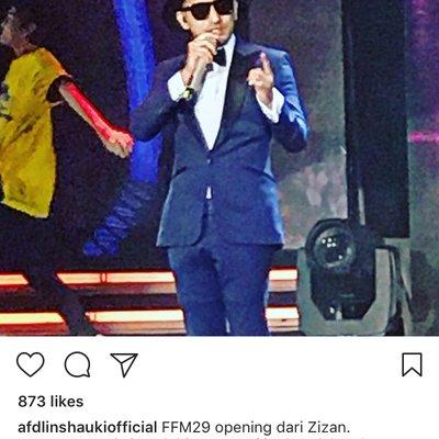 Ini Jawapan Balas Zizan Bila Dikritik Afdlin Shauki Ketika Menjadi Pengacara Festival Filem Malaysia 29