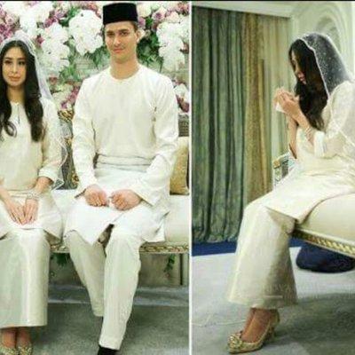 Ini Sebab Lengan Puteri Sultan Johor Dilipat Pada Hari Pernikahannya