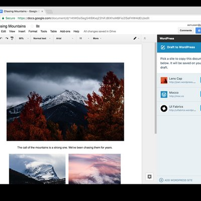 Introducing Wordpress Com For Google Docs A New Way Forward For Collaborative Editing