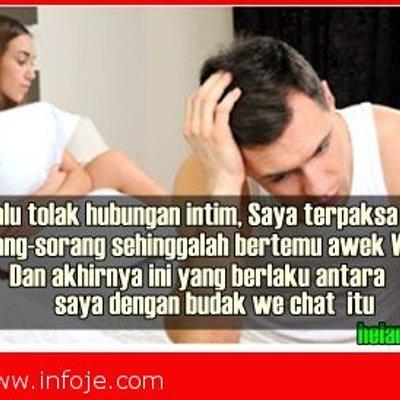 Isteri Selalu Tolak Saya Terpaksa Main Sorang Sorang Sehinggalah Bertemu Awek We Chat