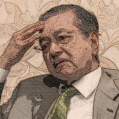 Isu Gambar Mahathir Tidak Puas Hati