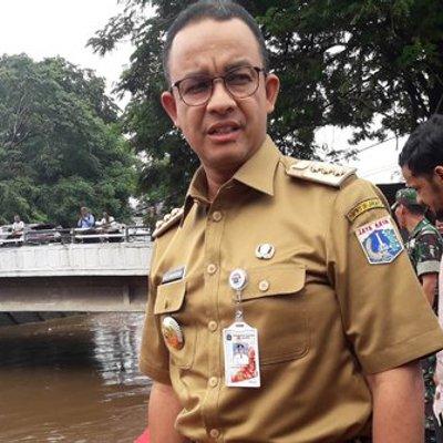 Jakarta Banjir Gubernur Anies Siap Tidak Tidur