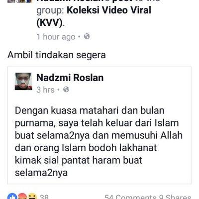 Jangan Hanya Berani Pada Neelofa Tapi Budak Ini Hina Islam Sampai Sekarang Masih Bebas