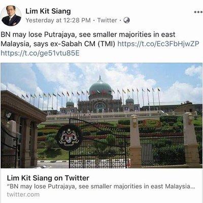 Jangan Mimpilah Lim Kit Siang Jangan Terkejut Plak Dap Kalah Teruk Kali Ini