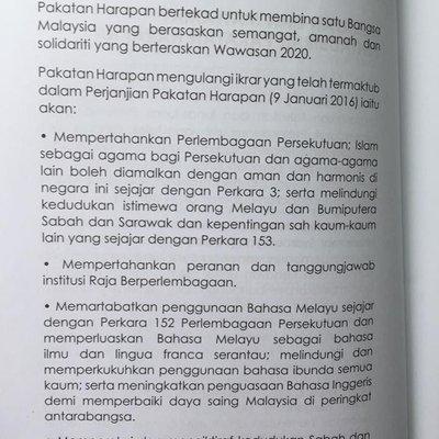 Jangan Terkejut Inilah Pelembagaan Malaysia Mengenai Hak Orang Melayu Selepas Bn Tumbang