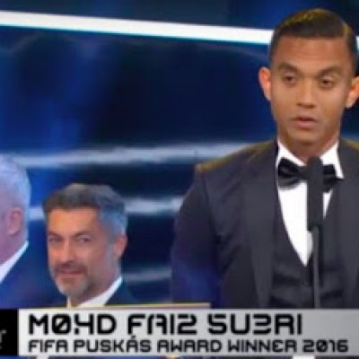 Jaringan Gol Terbaik 2016 Faiz Subri Menang Fifa Puskas Award