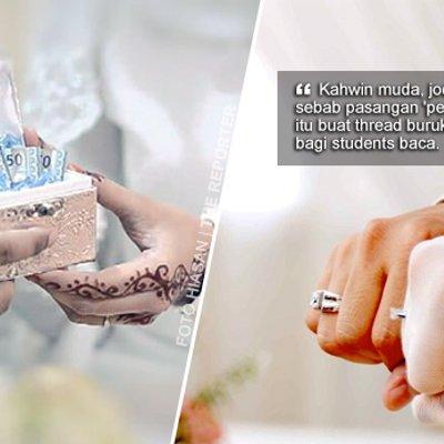 Kahwin Muda Jodoh Tak Panjang Pastu Buat Thread Burukkan Bekas Pasangan Dah Jadi Trend