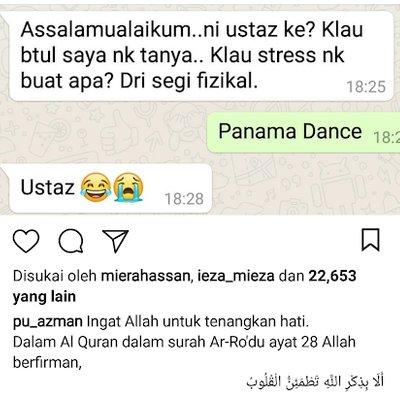 Kalau Stress Nak Buat Apa Panama Dance