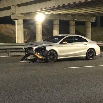 Kamal Adli Terlibat Dalam Kemalangan Jalan Raya