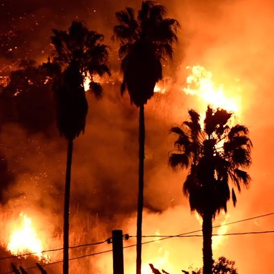 Kebakaran Besar California Sudah Merebak Ke Los Angeles