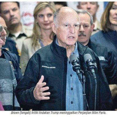 Kebakaran Hutan Kritikan Pedas Gabenor California Ni Terus Buat Trump Terduduk