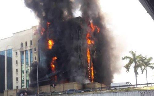 Kebakaran Pejabat Kwsp Petaling Jaya Ditutup Sementara