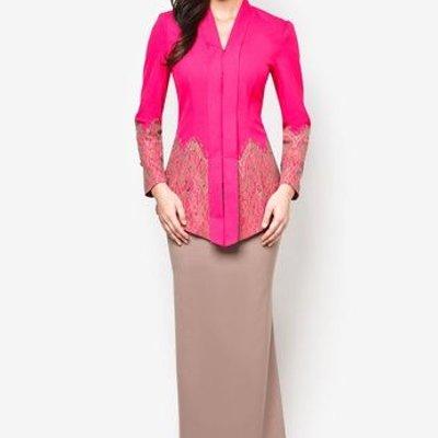 Kebaya Saloma Kini Menjadi Trend Dunia Fesyen Wanita