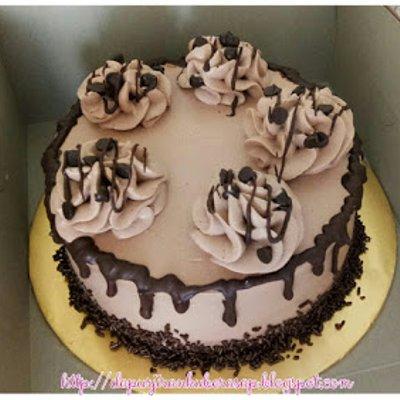 Kek Black Forest Coklat