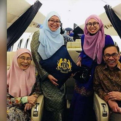 Keluarga Guna Jet Peribadi Nurul Izah Jawab Urusan Rasmi
