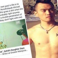 Kemaruk S Ksss Alvin Tan Cabar Anak Melayu Dan Islam