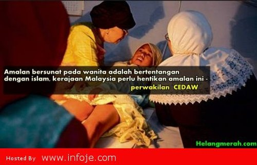 Kerajaan Malaysia Di Desak Hapuskan Amalan Bersunat Kepada Wanita Kerana Ia Bertentangan Dengan Islam Kata Wakil Cedaw