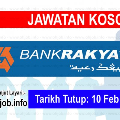 Kerja Kosong Bank Kerjasama Rakyat Malaysia
