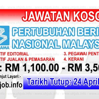 Kerja Kosong Bernama Pertubuhan Berita Nasional Malaysia
