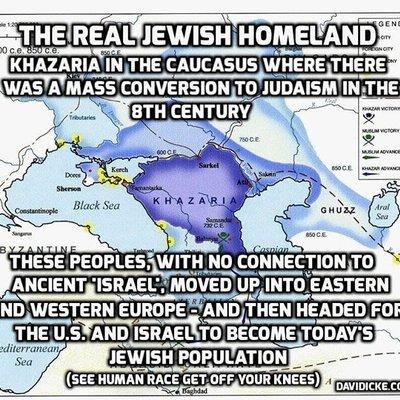 Khazar Berlakon Jadi Bani Israel Bajet Suci Keturunan Yakjuj Makjuj