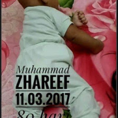 Kisah Anak Zhareef Starting Meniarap