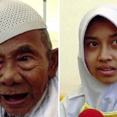 Kisah Kakek Bertongkat Dan Mahasiswi Cantik Saat Naik Haji