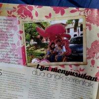 Kisah Penyusuan Kami Di Majalah Pama Keluaran Ogos 2015 Di Karangkraf