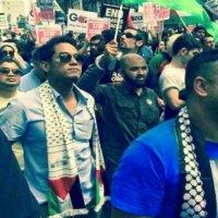 Kj Sertai Protes Kekejaman Israel Di London