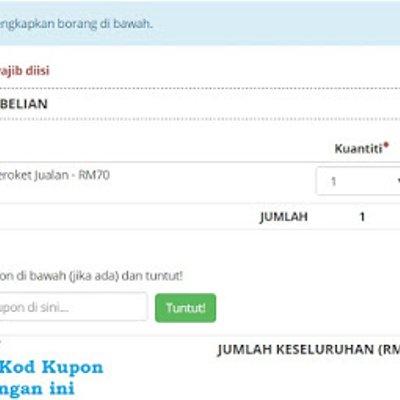 Kod Kupon Ramadhan Untuk Ebook Strategi Meroket Jualan