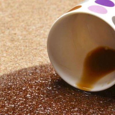 Kopi Tertumpah Nasi Lemak Bertaburan
