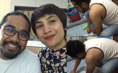 Korang Toksah La Buat Andaian Sendiri Yg Aku Buli Laki Ozlynn Tunjuk Johan Bantu Basuh Baju Guna Tangan