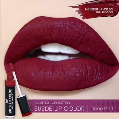 Kosmetik Suede Lipstick Matte