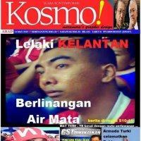 Kosmo Lelaki Kelantan Dibaham Singa