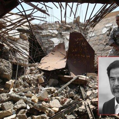 Kubur Hancur Dimana Mayat Saddam Hussein