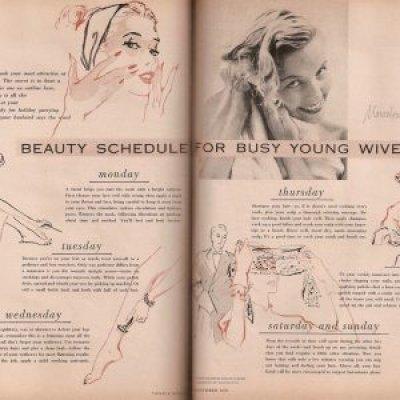Ladies Rancang Jadual Penjagaan Kecantikan Anda
