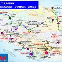 Laman Diraja Pontian Jadi Permulaan Kembara Mahkota Johor 2015